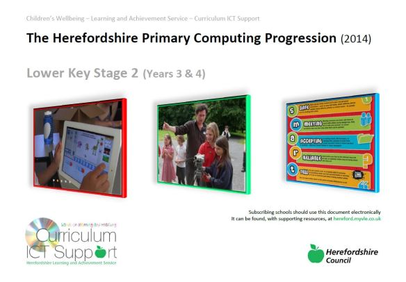 Computing Progression cover
